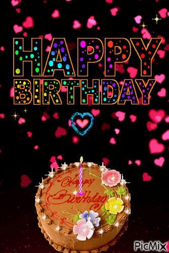 Birth Day Quotation Image Quotes About Birthday Description Falling Heart Happy B Birthday Cake Gif Happy Birthday Cake Images Happy Birthday Wishes Cake