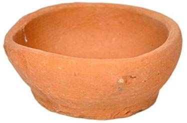 Diya Lamp Hashcart Handmade Indian Traditional Pooja Earthen Clay//Terracotta Oil Lamp