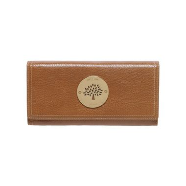 8b0c6895e6 Mulberry - Darley Wallet in Dune Small Classic Grain   I want this ...