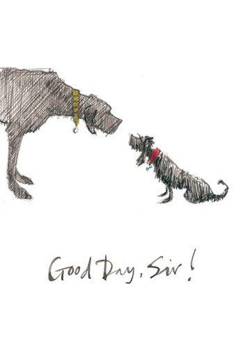 'Good day, Sir!' by Sam Toft (st48)