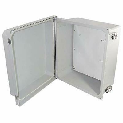 Sponsored Ebay Altelix 14x12x8 Frp Fiberglass Nema 4x Box Weatherproof Enclosure With Aluminum In 2020 Weatherproofing Stainless Steel Doors Enclosure