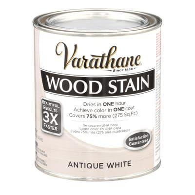 1 Qt Pickling White Woodshield Interior Stain Pickling Qt The Home Depot Staining Wood Staining Wood Floors Stain On Pine