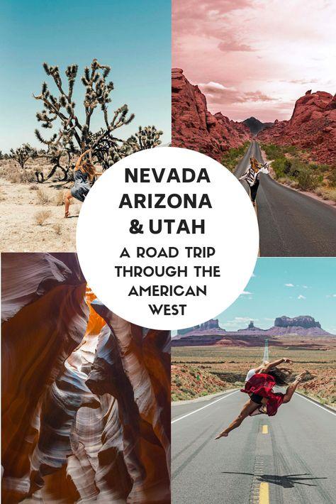 Nevada, Arizona, Utah - A complete road trip through the American West