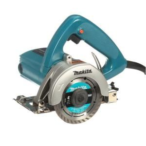 Makita 12 Amp 4 3 8 In Masonry Saw 4100nh The Home Depot In 2020 Concrete Retaining Walls Concrete Pavers Garden Wall Block