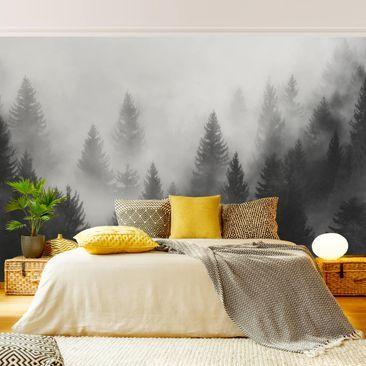 wanddeko wohnaccessoires bilderwelten online shop home decor hirschkopf deko schwarz wandobjekte