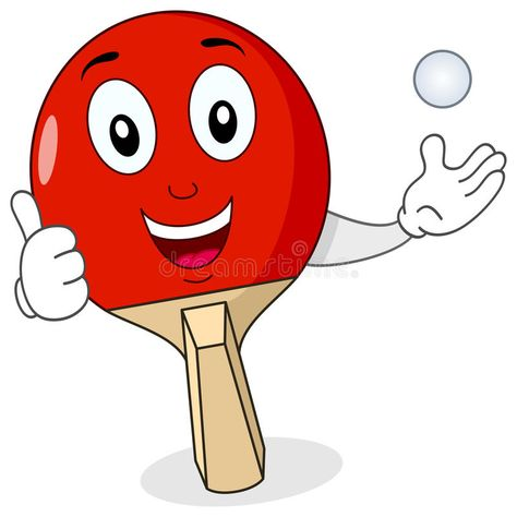 Billedresultat For Table Tennis Cartoons Tischtennis Tennis