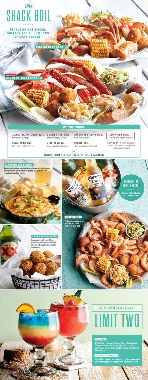 Joe's Crab Shack - Featured Menu