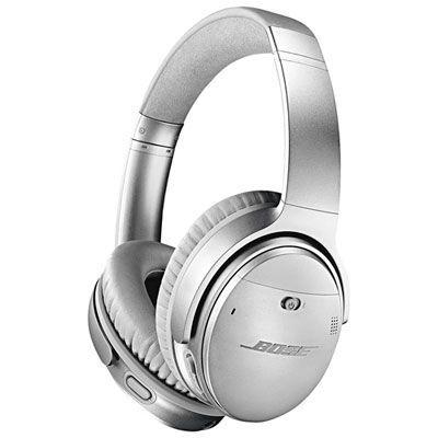 Bose Quietcomfort 35 Ii Over Ear Noise Cancelling Bluetooth Headphones Silver Audioheadphones B Headphones Wireless Headphones Bluetooth Headphones Wireless