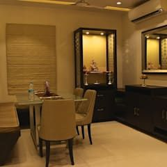 Mystic Moods Pune Modern Dining Room By H Interior Design Modern