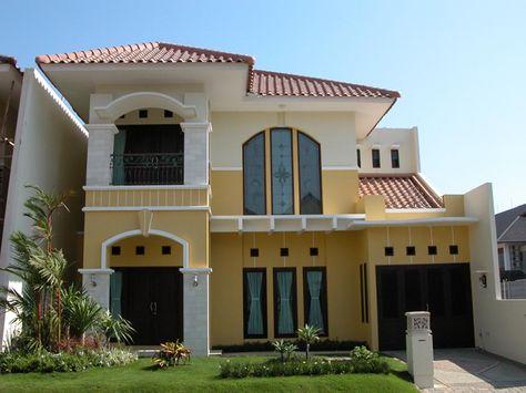 gaya desain rumah eropa kesayangan » gambar 7284 (dengan