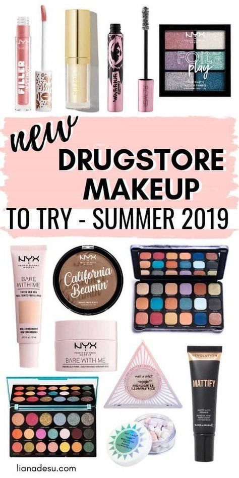 There are a ton of new drugstore makeup products newly released for summer! Find out what new products from the drugstore you should try! Summer 2019 #drugstore  #new #summer #style #shopping #styles #outfit #pretty #girl #girls #beauty #beautiful #me #cute #stylish #photooftheday #swag #dress #shoes #diy #design #fashion #Makeup