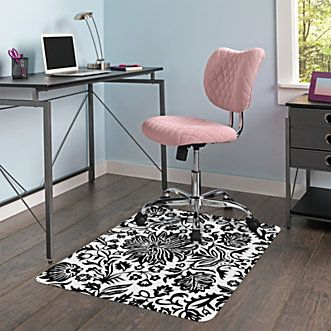 Brenton Studio Jancy Quilted Fabric Low Back Task Chair Pink Office Depot Stylish Office Furniture Chair Stylish Desk