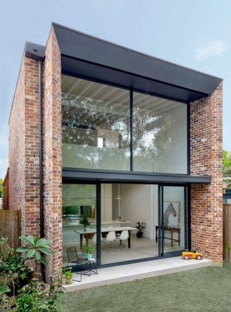 45 Admirable Shipping Container House Design Ideas 38 Agilshome Com Brick Exterior House Architecture House Exterior