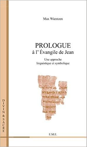 Prologue A L Evangile De Jean Telechargement Livre Pdf Books