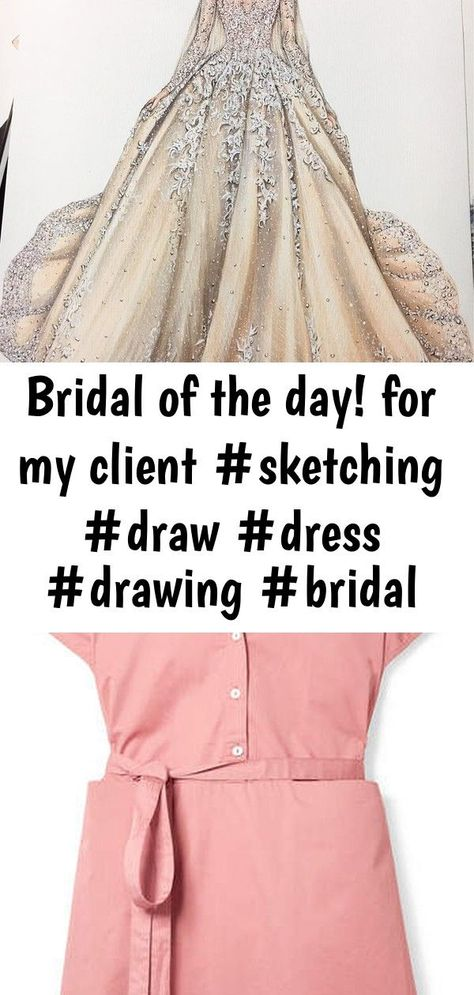 Bridal of the day! for my client #sketching #draw #dress #drawing #bridal #weddingdress #fashion #fa : Bridal of the day! For my client #sketching #draw #dress #drawing #bridal #weddingdress #fashion #fashionsketch #fashionsketching #fashionillustrator #fashionillustration #fashiondrawing #fashionart #art #artwork #instaart #illustration #illustrator Co Belted Cotton-sateen Dress - Blush SoldVintage 90s floral silk dress by Laura Ashley. Fits like a sz S or US 4/6. Please DM for purchasing! Fash