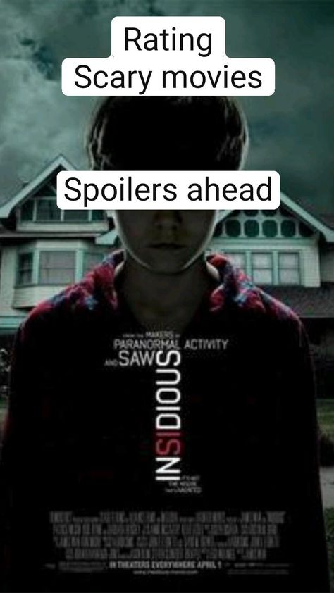 Rating Scary movies   Spoilers ahead