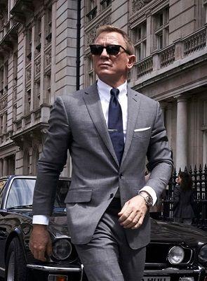 The James Bond Tab Collar Shirt Daniel Craig Suit Daniel Craig