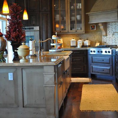 Gray Cabinets. Salt Lake City Rustic Design, Pictures, Remodel, Decor And  Ideas