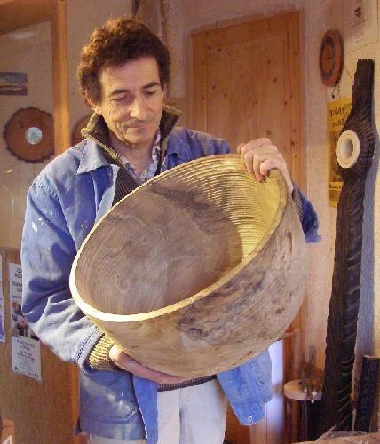 Galerie photos - Jean Dominique Denis - Créations en bois tourné - tourneur sur bois - stages - ardèche
