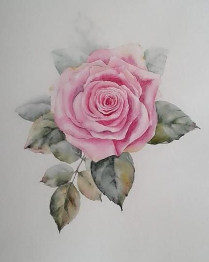 20 Trendy Ideas Flowers Painting Rose Artists Painting Flowers