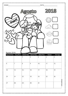 Calendario 2018 Em Pdf Atividades Pedagogica Suzano Com Imagens