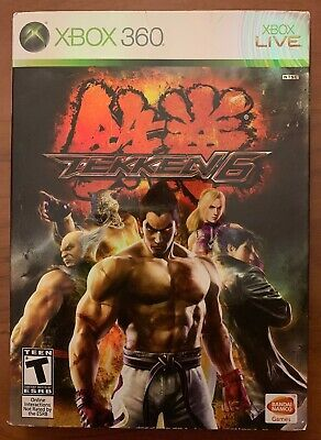 Tekken 6 Xbox 360 Game Vf Nm Ebay Xbox Xbox 360 Xbox 360 Games