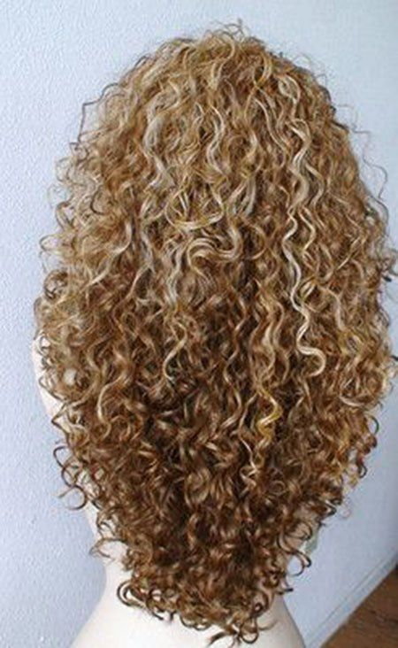 25 Haircuts For Long Curly Hair 24 V Shaped Curly Hair Curly Hair Styles Hair Styles Long Hair Styles
