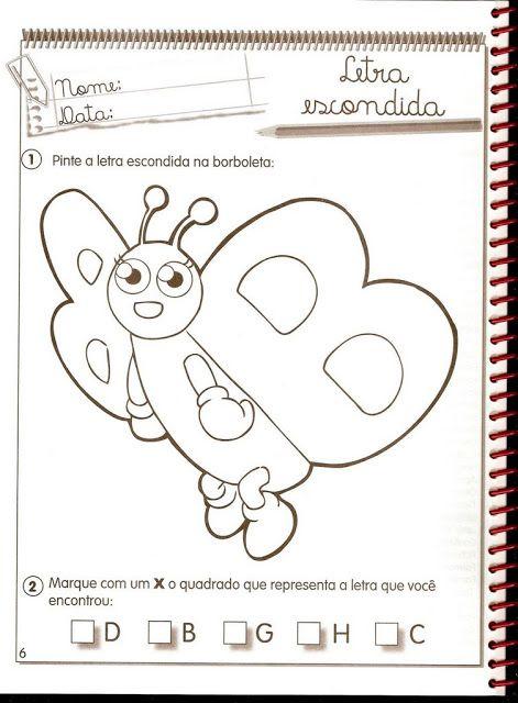 Atividade De Educacao Infantil Com A Letra B Educacao Infantil