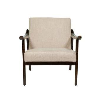 Union Rustic Mousseau Armchair Wayfair Accent Chairs Chair Armchair