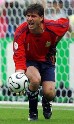 Roberto Abbondanzieri   2003-2006 - PES Stats Database   Deportistas