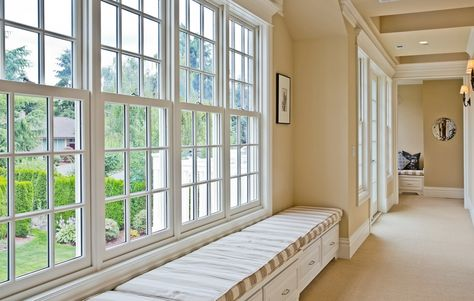 Bay windows don't get more perfect than this one. Bellevue, WA Coldwell Banker BAIN