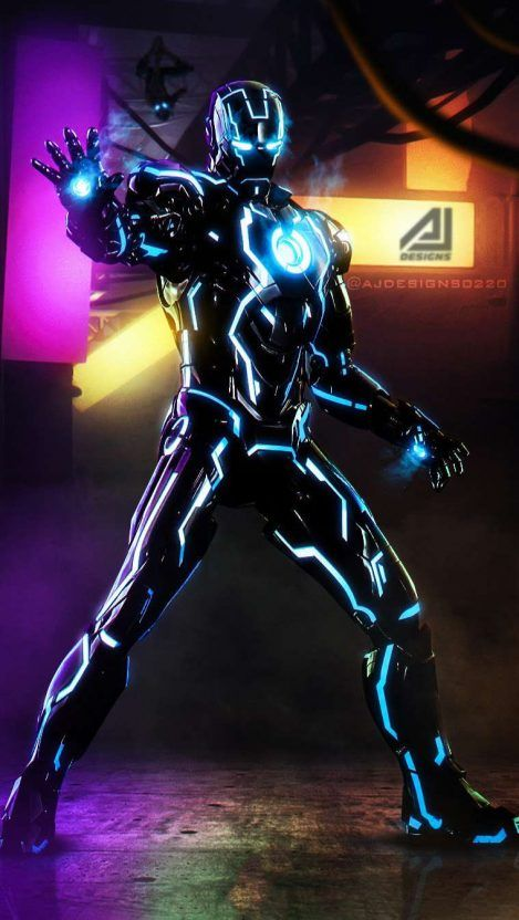 Iron Man Black Armor Iphone Wallpaper Black Armor Marvel Spiderman Art Marvel Comics Wallpaper