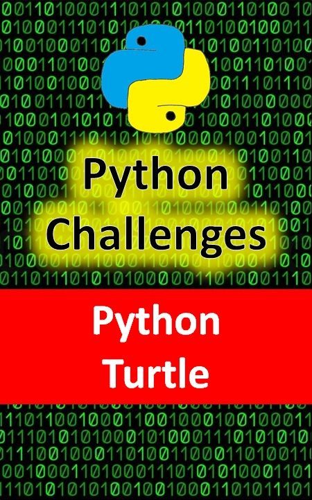 Python challenges to practice using the Python turtle 8