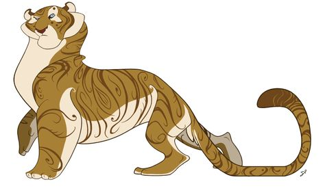 Character Design - Tiger by shayfifearts on DeviantArt
