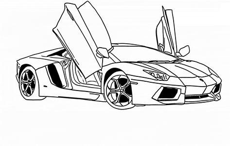 Malvorlage Lamborghini