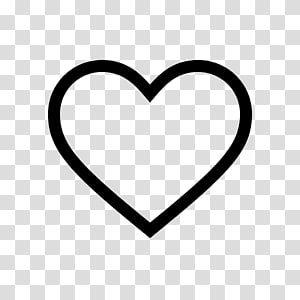 Heart Symbol Love Symbol Transparent Background Png Clipart Clip Art Heart Symbol Black Outline Heart