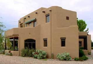 Estilo Santa Fe Fachada De Casas Mexicanas Casas De Adobe Modelos De Casas Rusticas