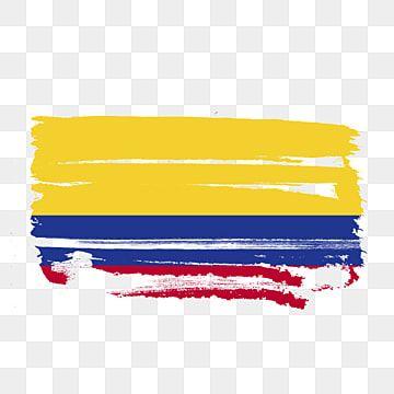 Bandera De Colombia Transparente Con Pincel De Acuarela Colombia Colombia Flag Vector De Bandera De Colombia Png Y Psd Para Descargar Gratis Pngtree Bandera De Colombia Pintura Vector Mapa De Colombia