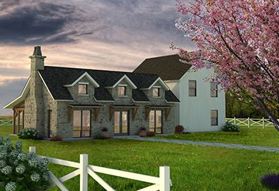 Pleasant Timber Frame Home Kit Farmhouse Series By Texas Timber Home Interior And Landscaping Elinuenasavecom