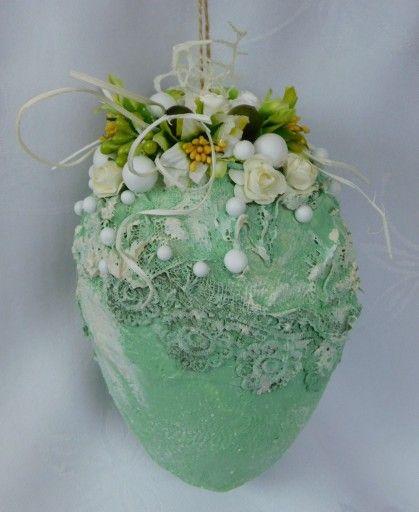 Pisanka Mix Media Zawieszka Ozdoby Wielkanocne 7811909628 Oficjalne Archiwum Allegro Easter Art Easter Egg Tree Easter Items