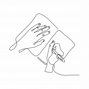 Continuous One Line Drawing Of Hand Writing With A Pen On Paper Vector Illustration Hand Drawn Minimalism Illustration Drawing Outline Png And Vector With Tr Continuous Line Drawing Line Drawing Minimal Pen png images free download. continuous line drawing