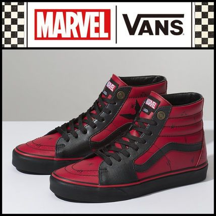 話題☆人気サイズ完売前に!【VANS x MARVEL】DEADPOOL SK8-HI | shoes ...