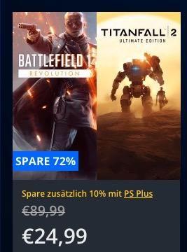 Playstation Store Bis Bis 60 Rabatt Auf Ps4 Spiele Battlefield 1 Titanfall 2 Ultimate Bundle Ps4 Spiele Playstation Store Und Playstation