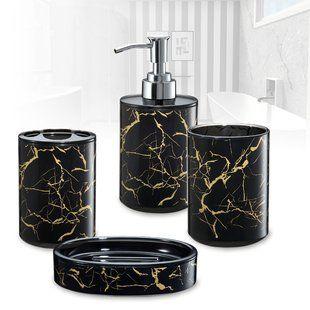 Real Essence Of Beautiful Marble Bathroom Accessories Set Darbylanefurniture Com In 2020 Marble Bathroom Accessories Bathroom Accessories Sets Marble Bathroom