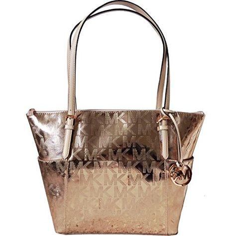 4e76652f0fef List of Pinterest michiel kors handbags tote jet set rose gold ...