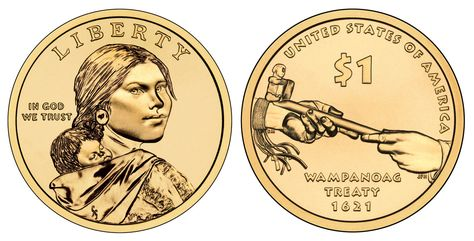 2006 P/&D Native American Indian Sacagawea One Dollars US Mint Coin Money Coin