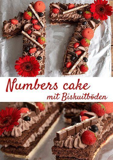 Zahlentorte Numbers Cake Kuchenmomente Der Backblog Rezept Geburtstagstorten Rezepte Hausgemachte Kuchen Torten Rezepte