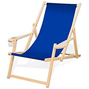 Amazon De Erst Holz Deckchair Rot Weiss Strandstuhl Gartenstuhl Buche Dunkel Sonnenliege Relaxliege Klappbar 10 314 In 2020 Sonnenliege Gartenstuhle Liegestuhl
