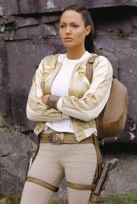 Angelina Jolie as Lara Croft in Tomb Raider: Cradle of Life