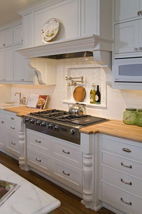 Delightful Cutting Board Counter & Stove - plan #013S-0014   houseplansandmore.com